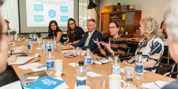 Comms experts from various industries came together at a roundtable event to discuss purpose in organisations (Image: David Cotter)